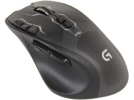Logitech G700s 910-003584 Black 13 Buttons 1 x Wheel USB Wired / Wireless Laser 8200 dpi Rechargeable Gaming Mouse