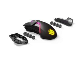 SteelSeries RIVAL 650 62456 Black 7 Buttons 1 x Wheel USB & Bluetooth RF Wireless Optical 12000 dpi Gaming Mouse
