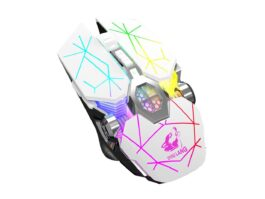 E-sport X13 Wireless Charging Gaming Mouse Silent Luminous Mechanical Mouse